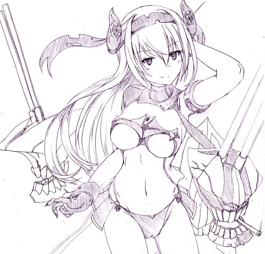 150825落書き防空姫