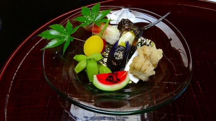 いちい亭食事 (2)