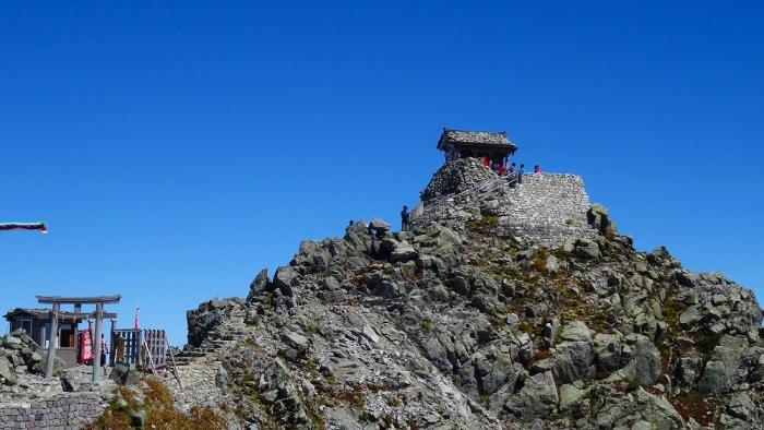 雄山頂上へ (8)