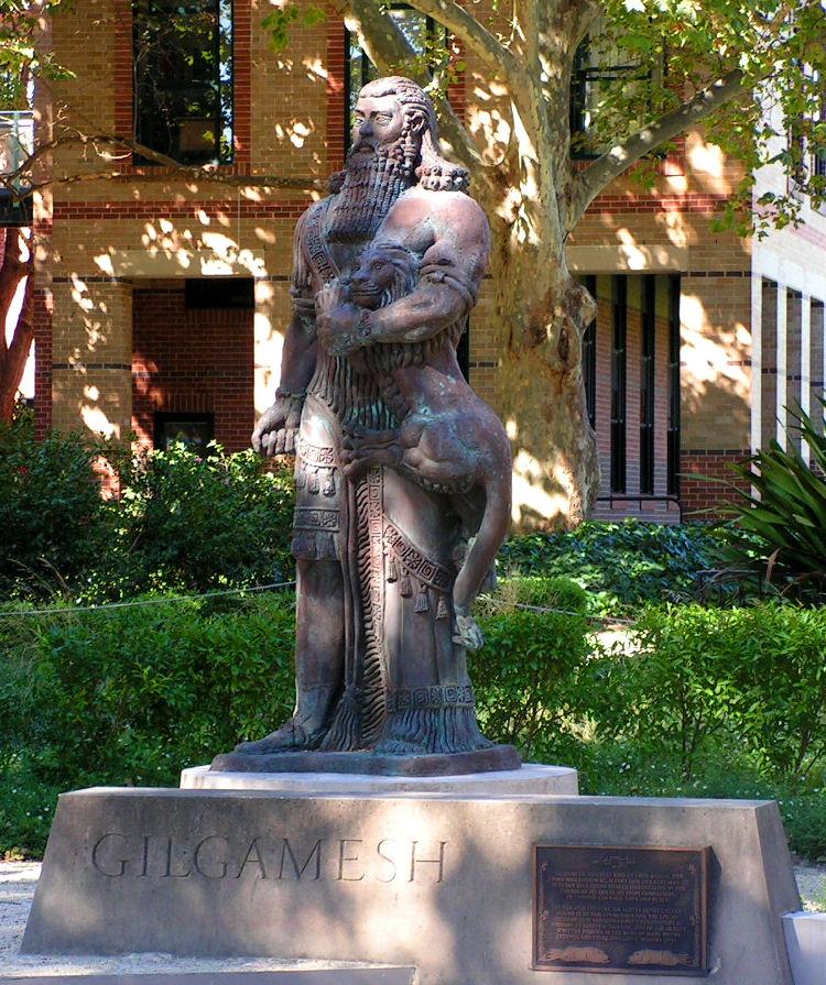 Statue_of_Gilgamesh,_U.Sydney