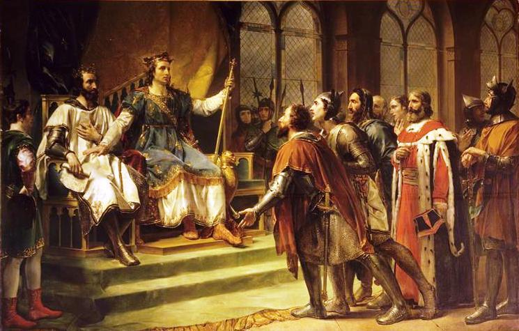 Rouget_-_Saint_Louis_médiateur_entre_le_roi_dAngleterre_et_ses_barons_(23_janvier_1264)