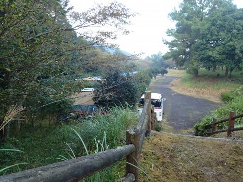 初熊本キャンプの朝