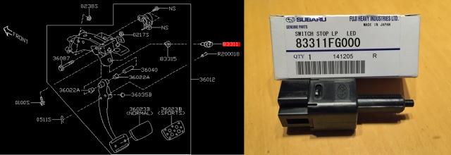 LED用ストップランプスイッチ2