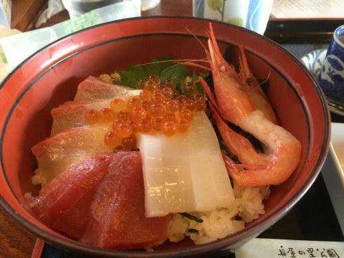海鮮丼20151012