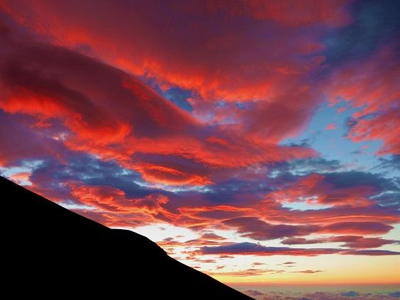 富士の赤雲2