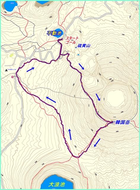 001 韓国岳