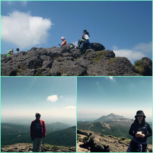 006 山頂にて