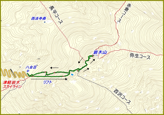 001 岩木山
