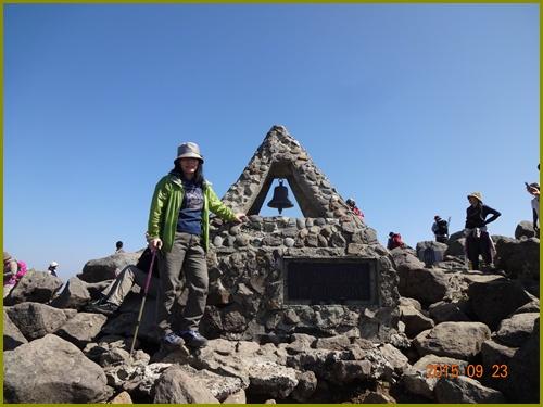 009 岩木山頂
