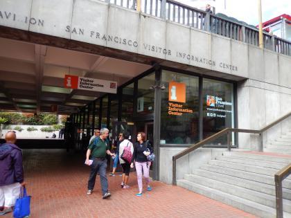 SFO+HNL2015.7サンフランシスコ観光案内所