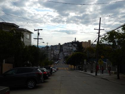 HNL+SFO2015.7サンフランシスコ・ロンバードストリート