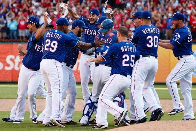 Texas Rangers 20151008