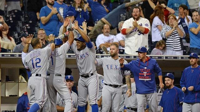 Texas Rangers 20151015