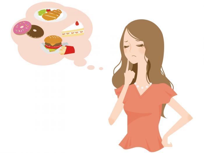 糖質で困る女性