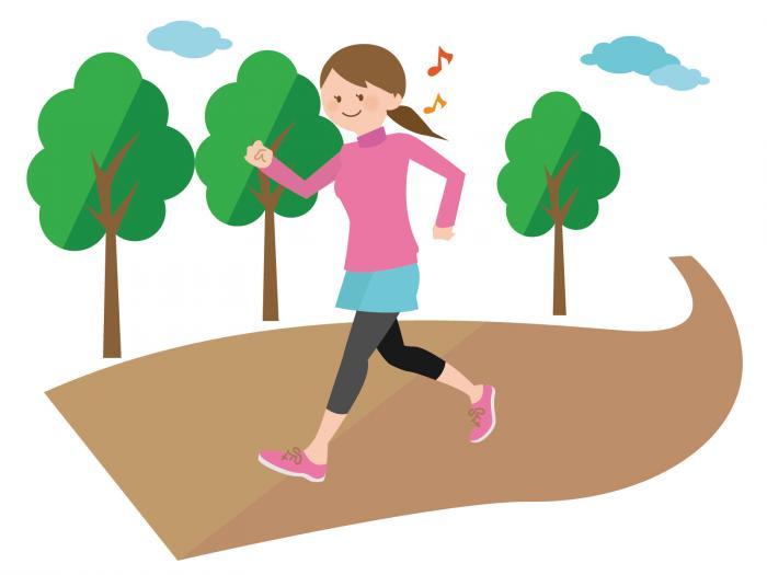 ジョギング女性