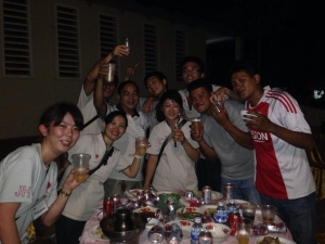 Rokakong hospital party