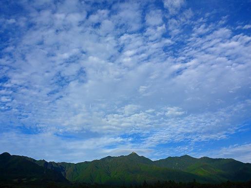 8月28日 愛子岳とうろこ雲