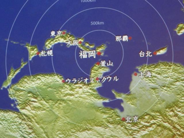 2015年8月28日 福岡市博物館 地図