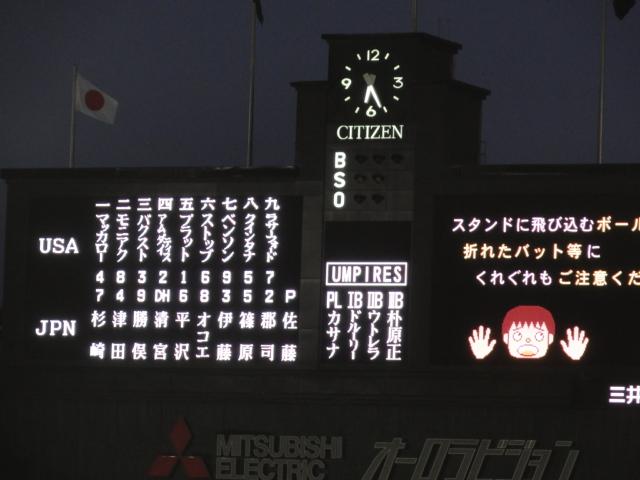 2015年9月6日 U-18W杯決勝 日米戦 先発メンバー