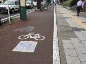 150825仙台市自転車レーン