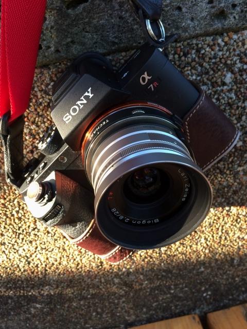 α7RⅡ + CONTAX G Biogon 28mm F2.8