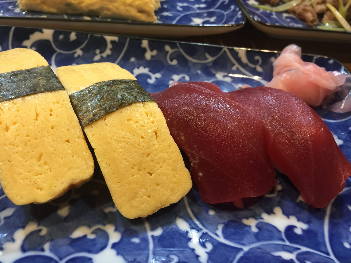激安串カツ霞握り寿司