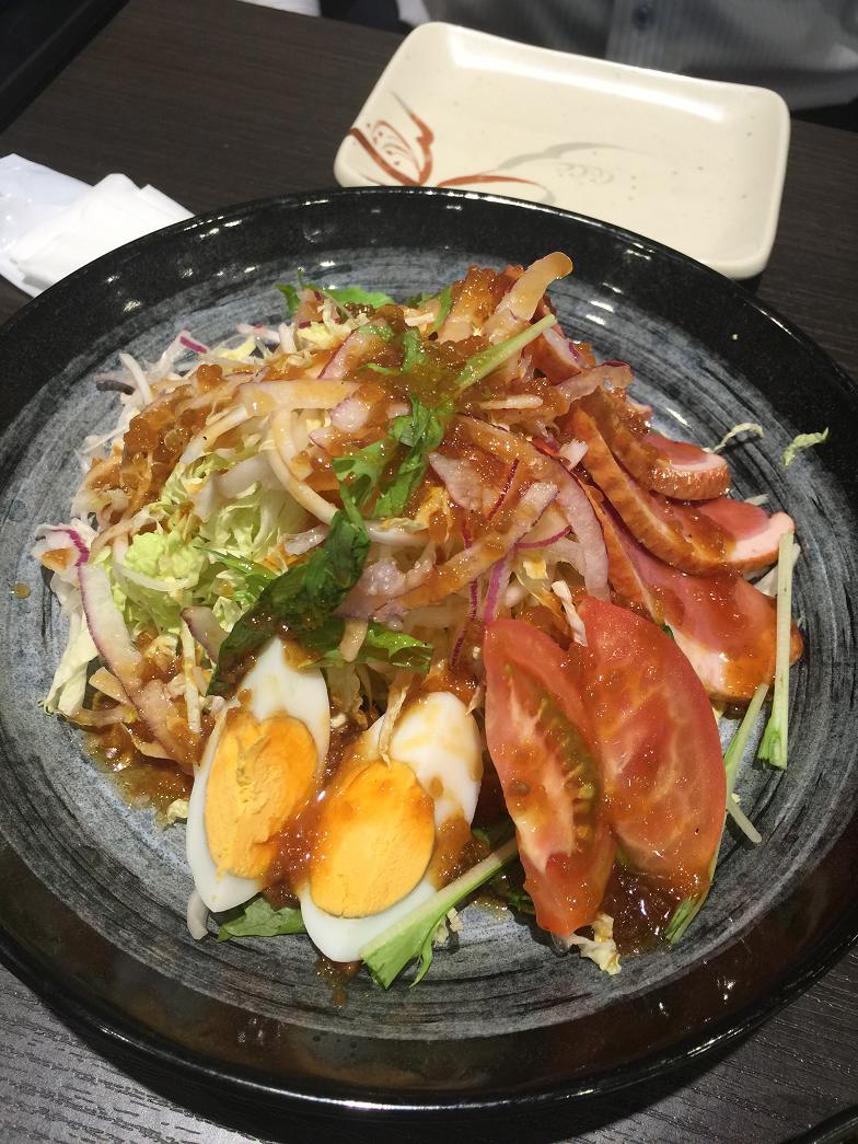 串カツ壱番サラダ