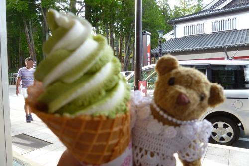 高野山 ソフトクリーム&ベァー