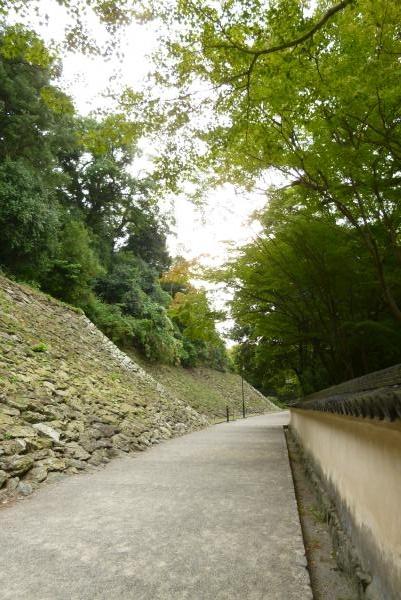 お城 土塀