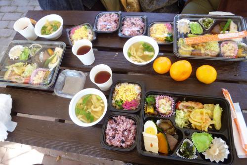 県 緑花センターさん「郷土食カフェ」