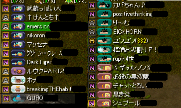 参加メンバー(9.12