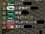 百虎参加メンバー(9.19