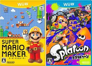 【WiiU】マリオメーカーとスプラトゥーンどっち買うべき?