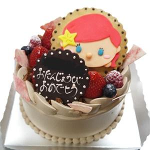 アリエルのキャラデコチョコケーキ