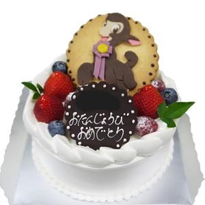キャラクターデコレーションケーキ 24時間前まで受付