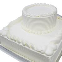 2段デコレーションケーキ土台