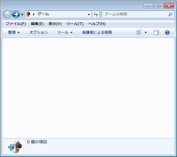 コントロールパネル → 「デバイスとプリンター」 をクリック → 「Xbox 360 Controller for Windows」 を右クリック、「ゲーム エクスプローラーを開く」 をクリック、ダイアログボックスが表示後、「ゲームの更新プログラムとオプションをセットアップします」 画面の 「OK」 ボタンクリック後、別の画面が開き 「ゲーム プロバイダー」、「ゲーム」 といった項目の中に現在 PC にインストールされているゲームやツールなどが一部表示、「ゲーム プロバイダー」 や 「ゲーム」 リストを消去したい場合は、非表示したい項目を選択して右クリックから 「このゲーム プロバイダーを非表示にする」 をクリック、すべての項目を非表示にした状態