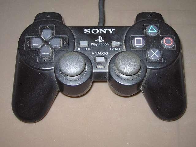 PS2 プレイステーション2 コントローラー DUALSHOCK 2 デュアルショック2 SCPH-10010 メンテナンス、分解作業 分解前