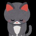 お辞儀の猫