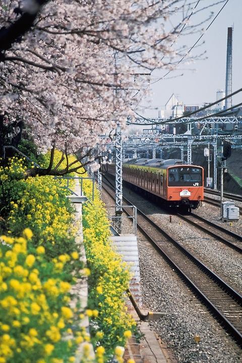 s62東中野_中央線快速201系_002