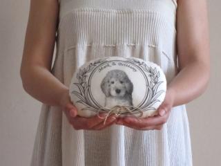 犬_リングピロー_カスタマイズ_オーダーメイド