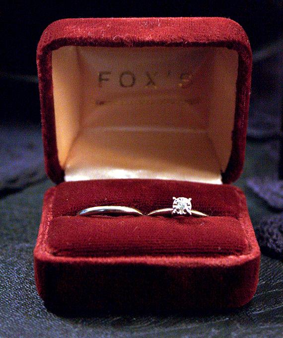 ヴィンテージ婚約指輪_1950年代_ビンテージ