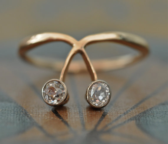 ヴィンテージ指輪_1900年代_ウェディング