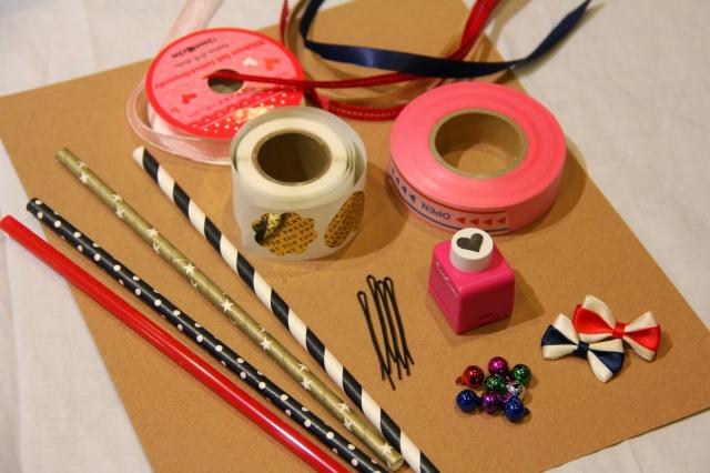 タグ付きリボンワンズ作り方DIY