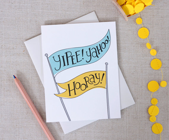 hooray_カード_etsy