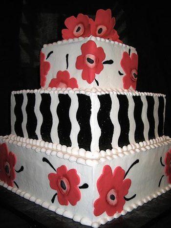 マリメッコ_ウェディングケーキ