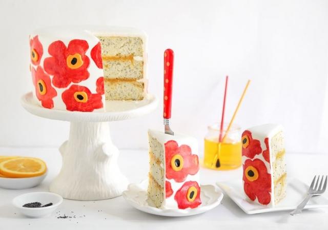 マリメッコ_ウェディングケーキ画像