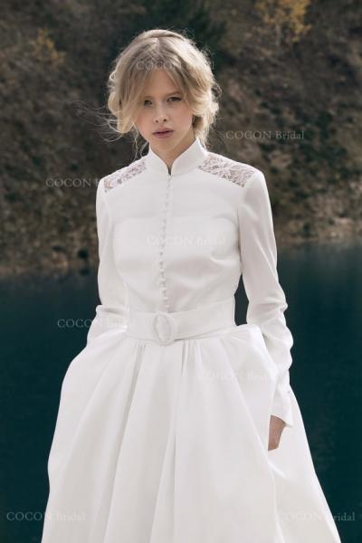 ウィンターウェディングドレス