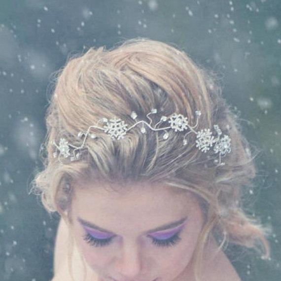 雪の結晶_ヘッドピース