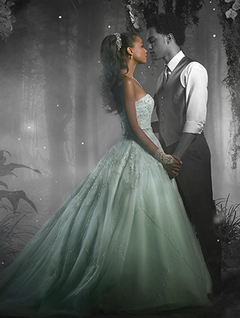 プリンセスと魔法のキス_ティアナウェディングドレス_AlfredAngelo(アルフレッドアンジェロ)